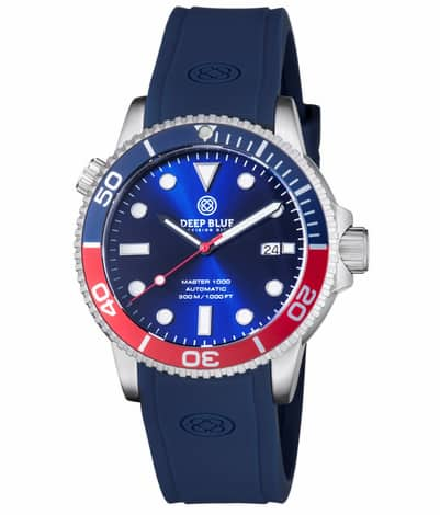 Deep Blue Master 1000 Automatic Dive Watch - $149 after 40% off code