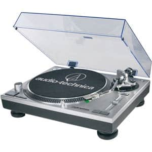 New Audio-Technica AT-LP120-USB Direct-Drive Professional Turntable for $199 Plus Tax - Fry's Promo Code Deal