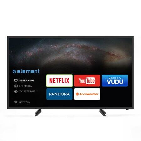 "ELEMENT 55"" Class 4K (2160P) UHD Smart LED TV (E4SW5518) WalMart B&M $169 Clearance"