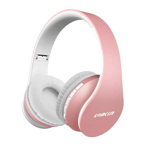 Lobkin Bluetooth Headphones W/Built-in Mic $19.59