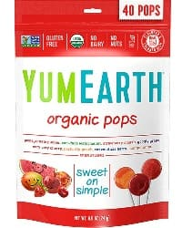 40-Count YumEarth Organic Lollipops (Assorted Flavors) $3.30 + Free S/H (Kroger New Users)