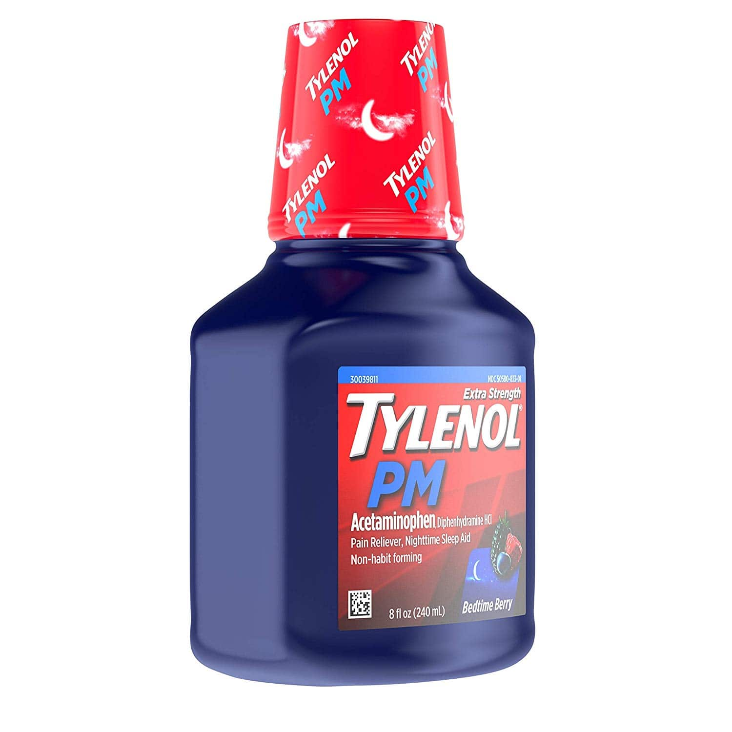 2-Count 8 fl-oz Tylenol PM Extra Strength Liquid Sleep Aid/Pain Reliever $6.94 F/S w/Prime