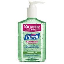 2-Count of 8oz Purell Advanced Hand Sanitizer (Various) $1.27 w/free store pick up