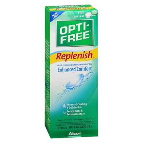 10-oz Opti-Free Replenish Multi-Purpose Disinfecting Solution $3.74 + Free store pick-up
