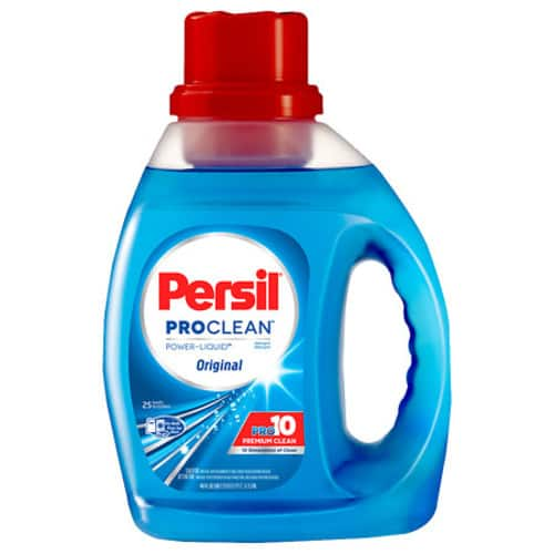 40oz Persil ProClean Liquid Laundry Detergent $2.99 + Free Store Pick Up