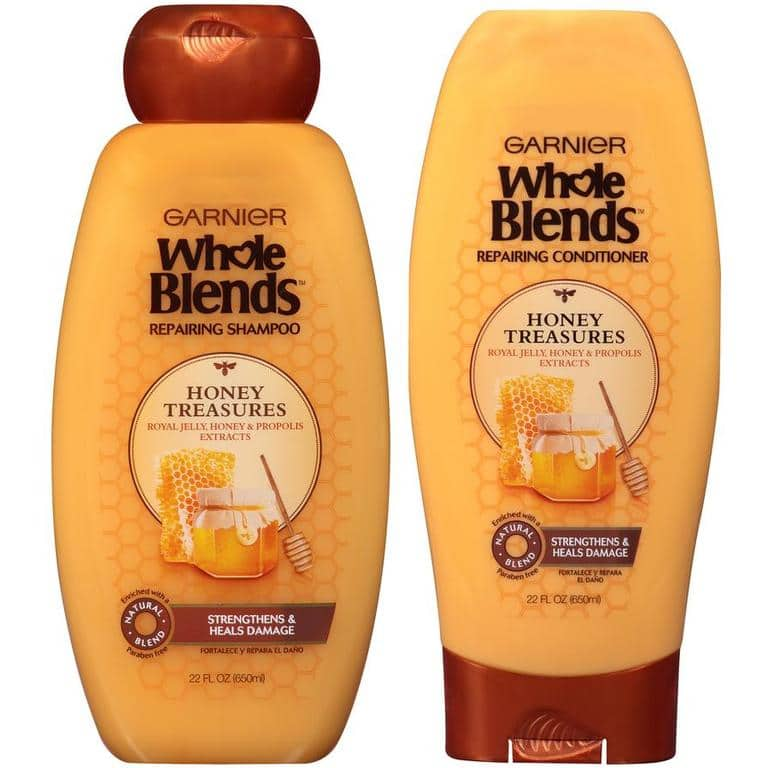 2 X 12.5-oz Garnier Whole Blends Shampoo or Conditioner $3 + Free Store Pick Up