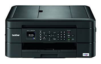 Brother Wireless Color Inkjet All-In-One Printer, Copier, Scanner, Fax, MFC-J480DW $39.99