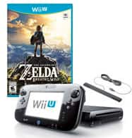 Nintendo Wii U 32GB Breath of the Wild Pre-Owned System Bundle $140 plus shipping online only