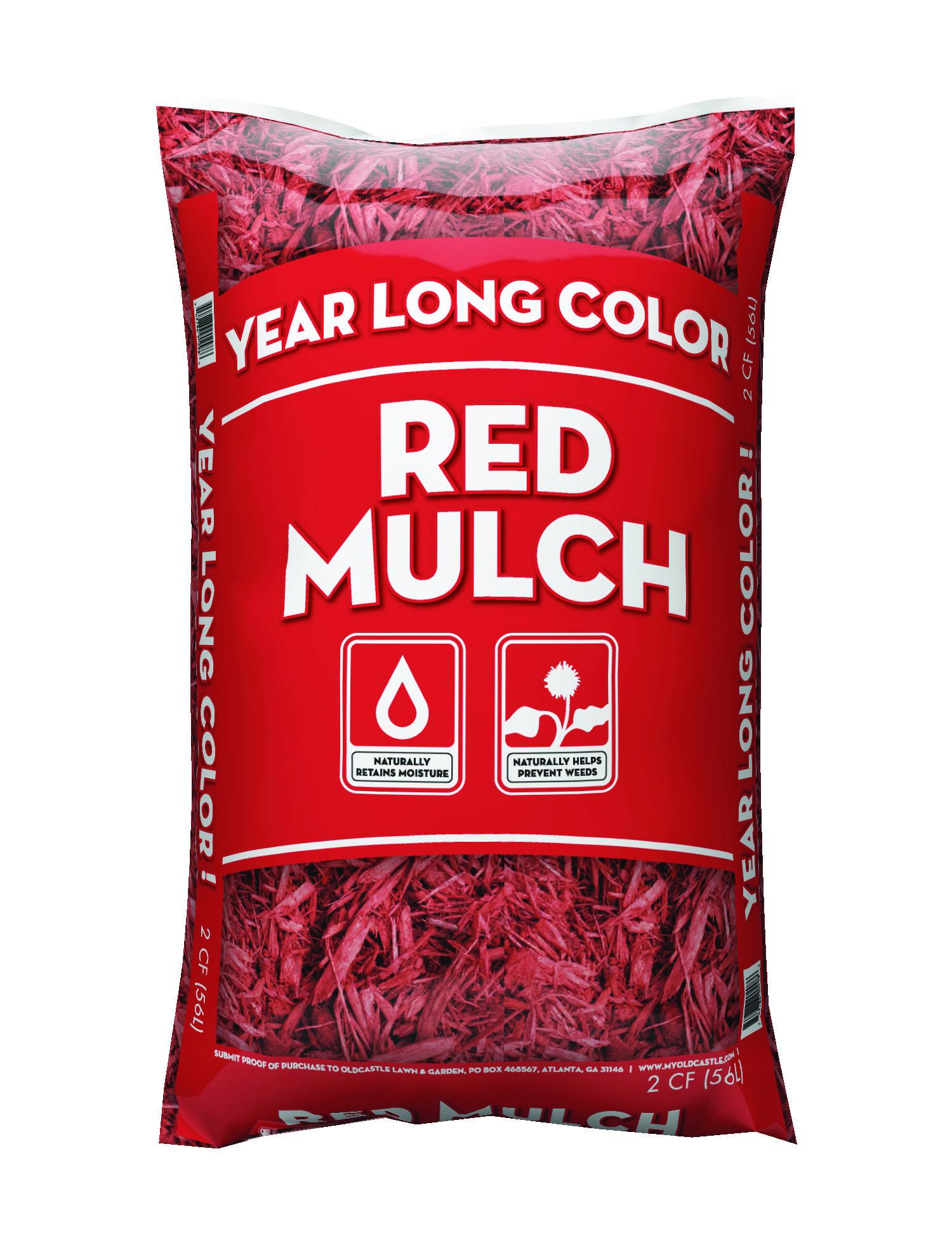 2CF Year Long Red Mulch Walmart in store YMMV - $1