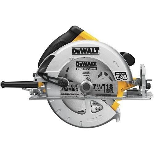 DEWALT DWE575SB 7-1/4-Inch Lightweight Circular Saw with Electric Brake $105.44