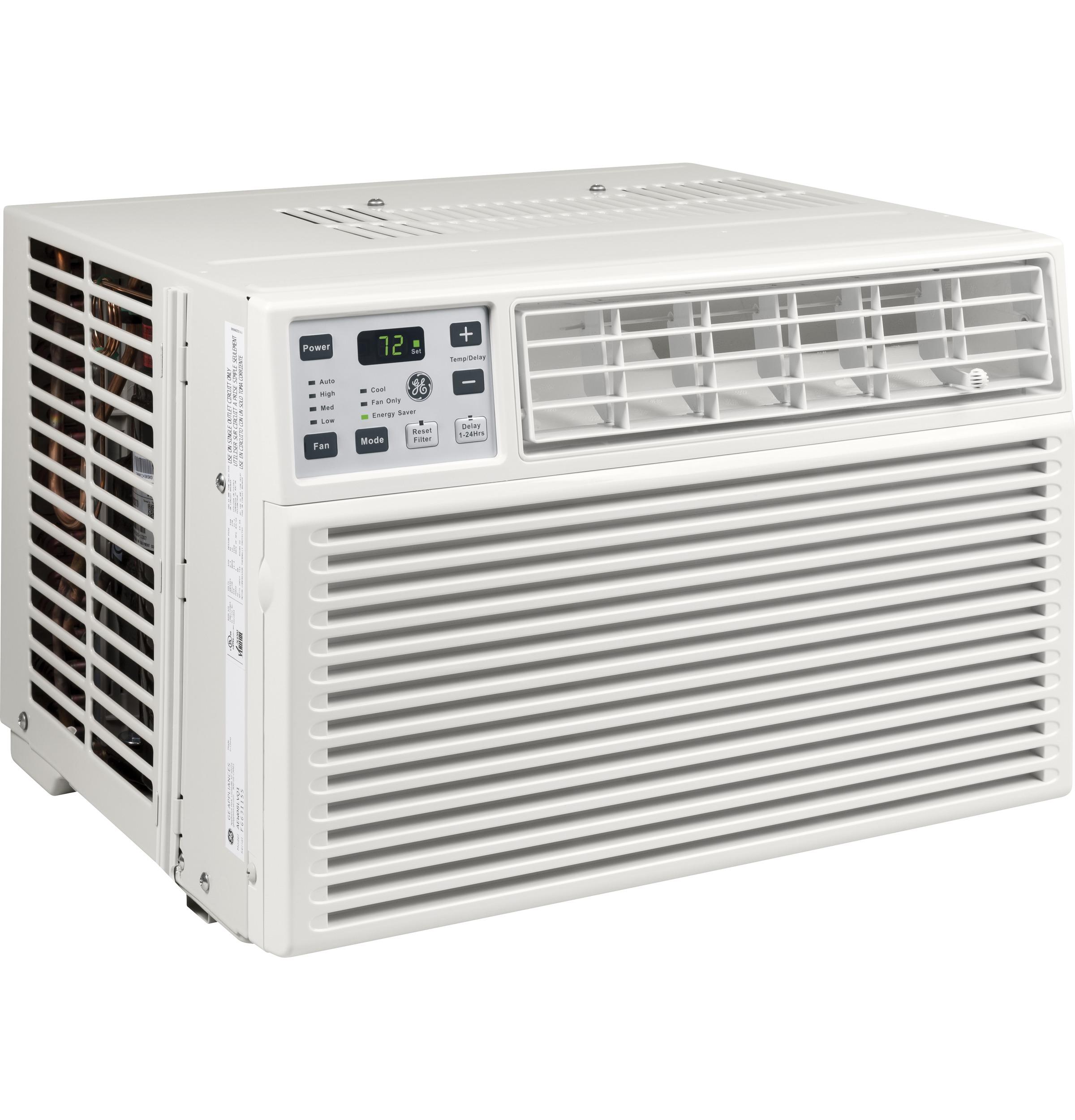 Ge 6,000 btu air conditioner with remote, aew06lx $139