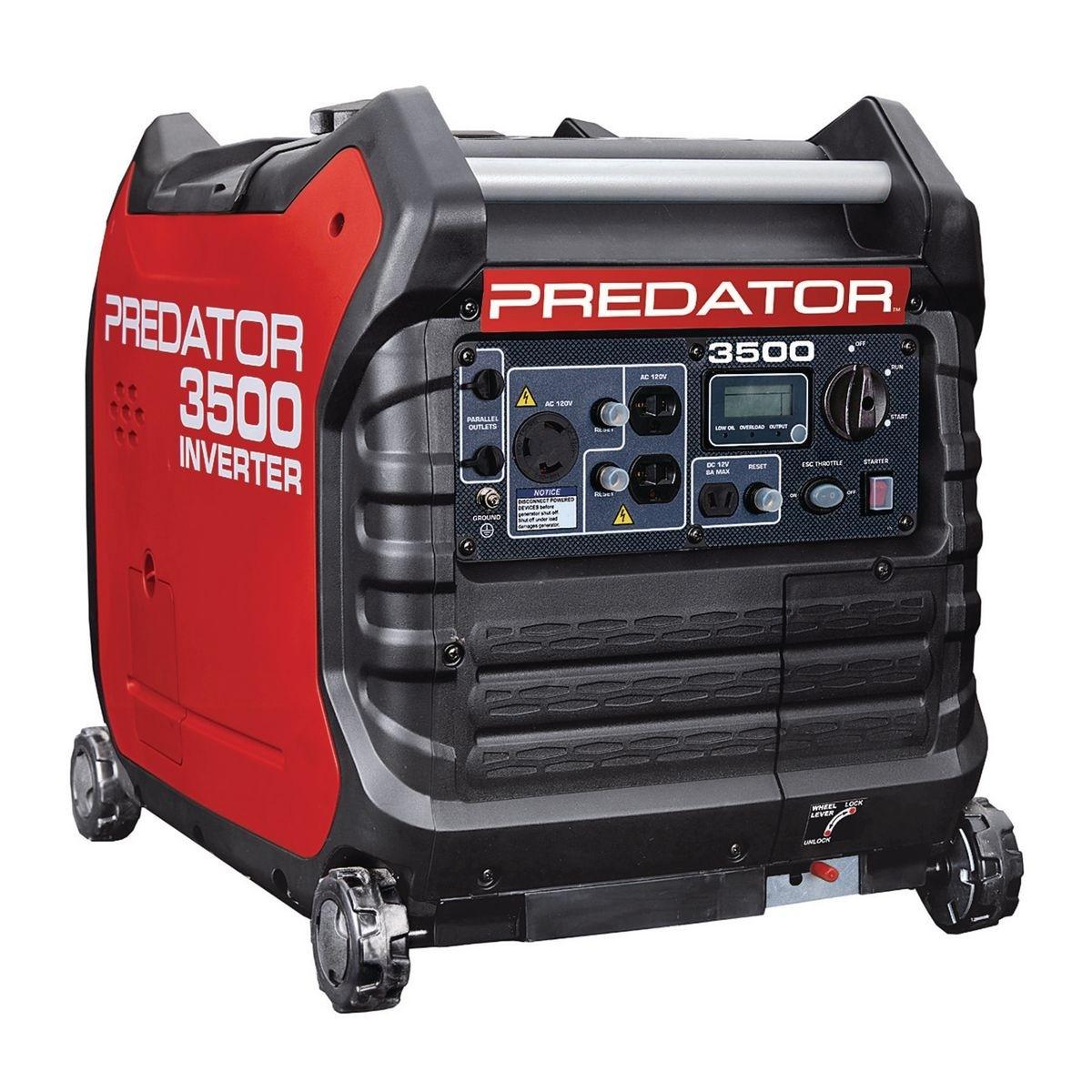 Harbor Freight Predator 3500 Watt Super Quiet Inverter Generator - $679.99 After Coupon