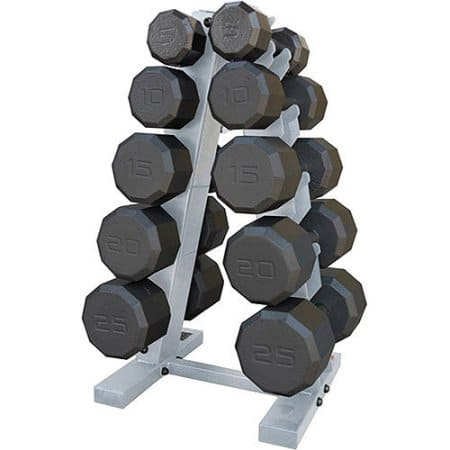 CAP Barbell 150 lb. Eco Dumbbell Set with Rack $151 + Tax (Walmart, Free Store Pickup)