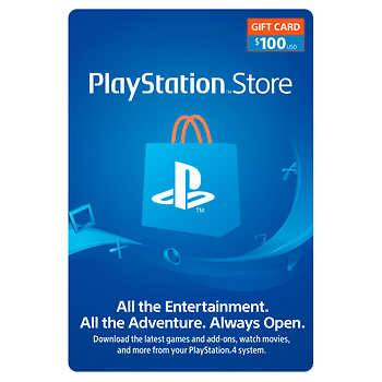 Sony PlayStation $100 Gift Card Digital Download (89.99)