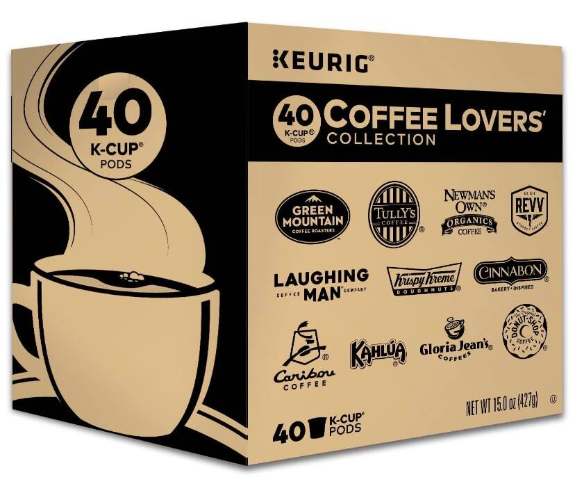 Keurig Coffee Lovers' Collection Variety Pack $12.34($0.3/ Count)
