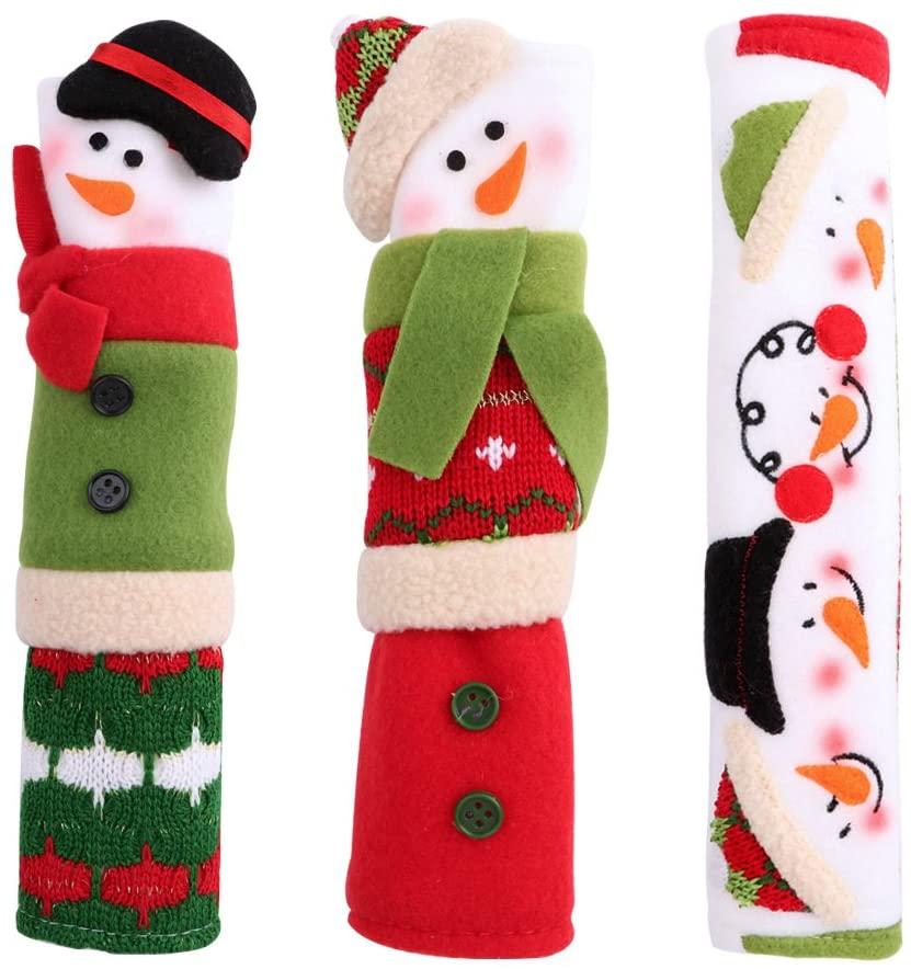 Christmas Fridge Handle Covers Set of 3 $7.99