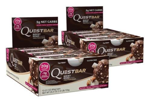 Another price drop: Quest Rocky Road (Best By 10/17) on eBay - $13.50/box or for 5 for $49.99