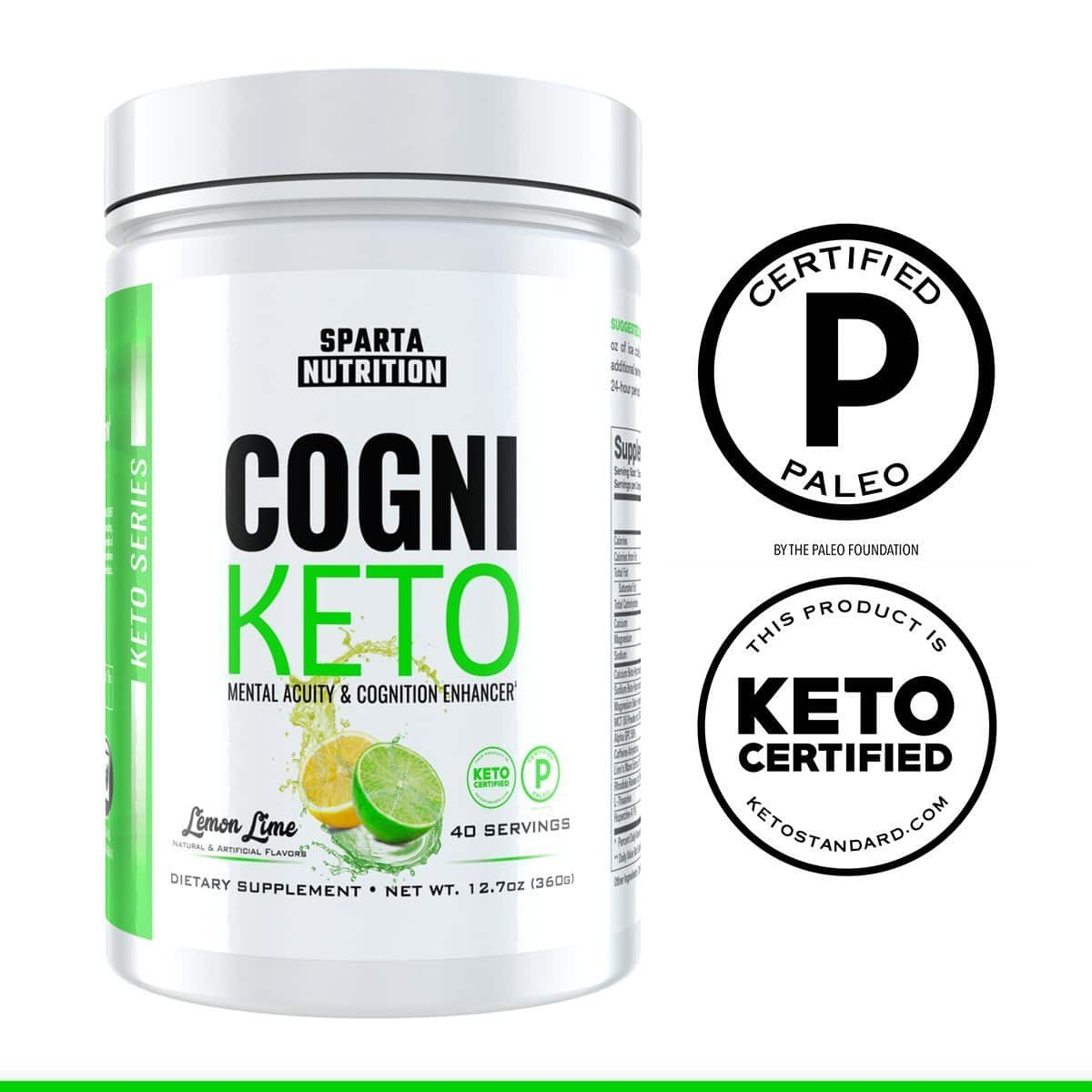New Nootropic: CogniKeto by Sparta Nutrition, $36.99 (Normally $59.99 - $23 off Launch Sale)