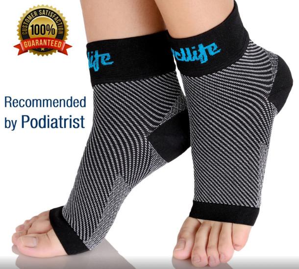 Compression Plantar Fasciitis Socks for Men Women $6.83