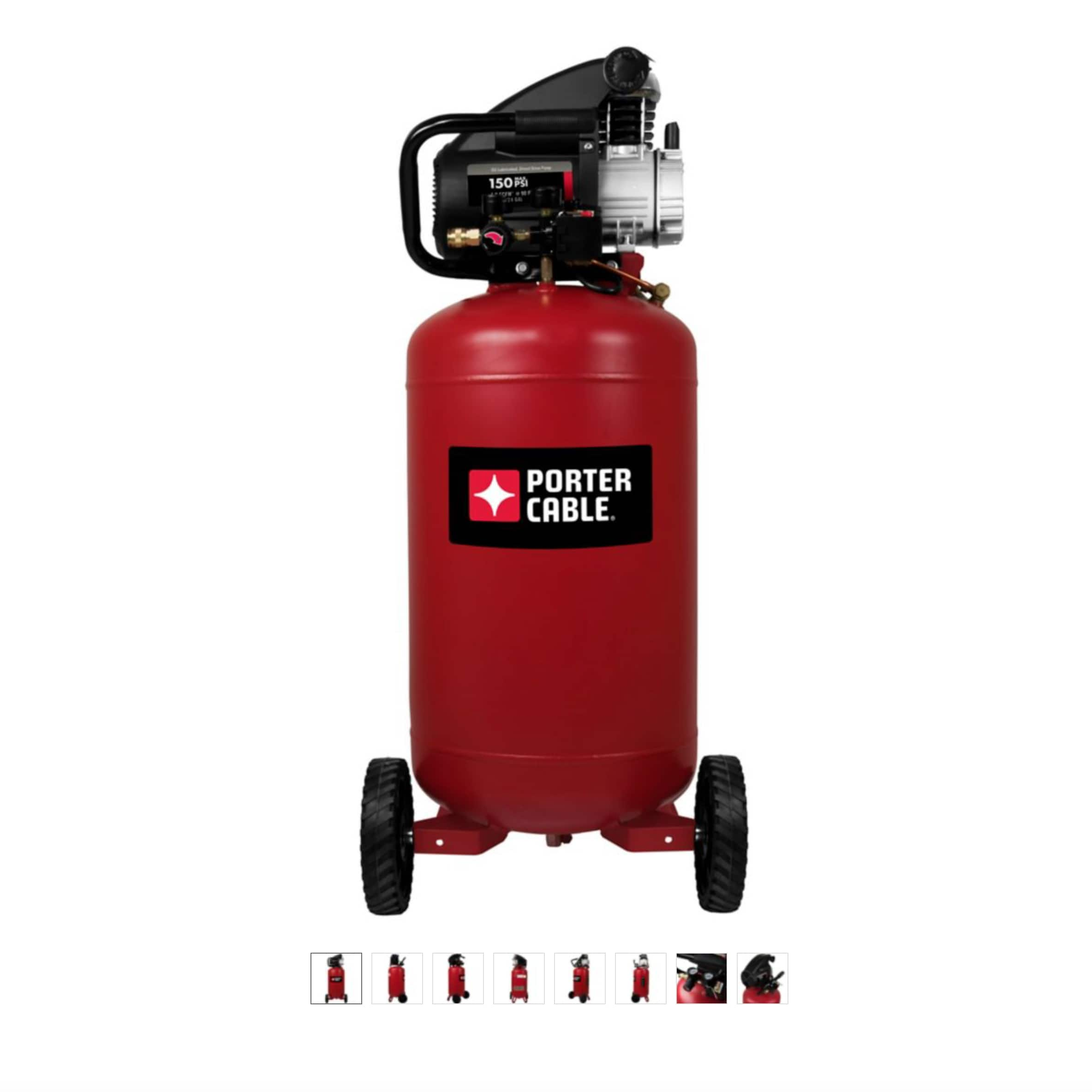 PORTER-CABLE 24-Gallon Portable Air Compressor, PXCML224VW $219.99 at Tractor Supply