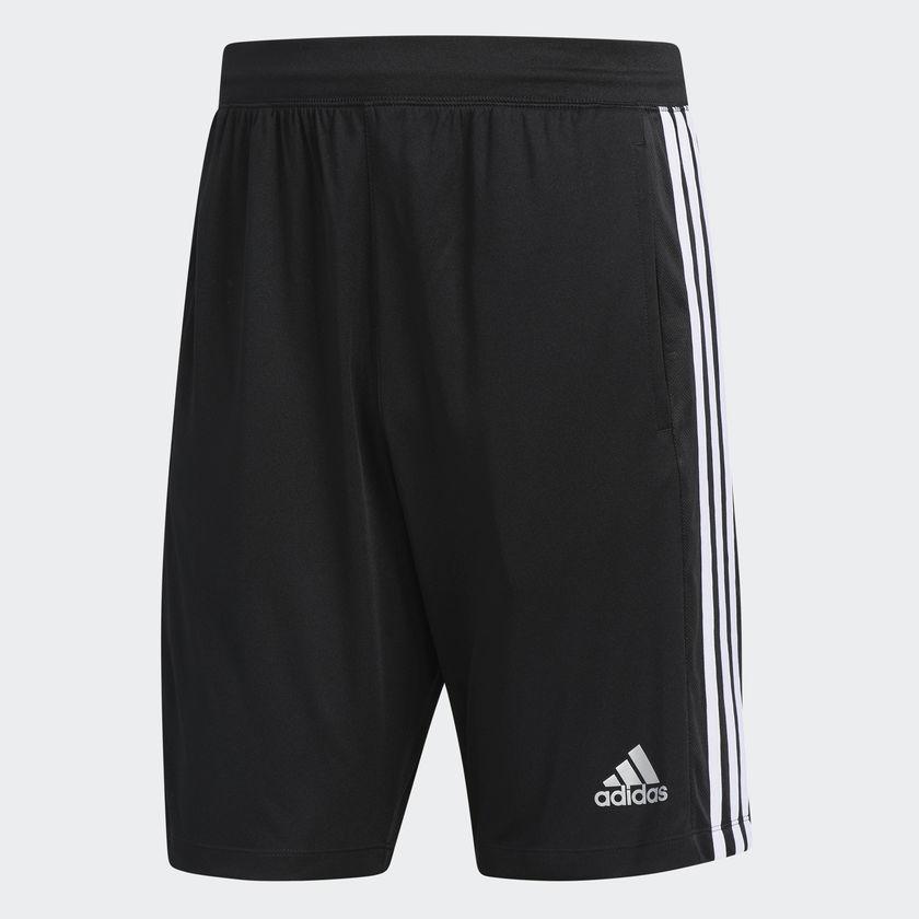 Adidas D2M 3-Stripes Training Shorts $10.50 + Free Shipping