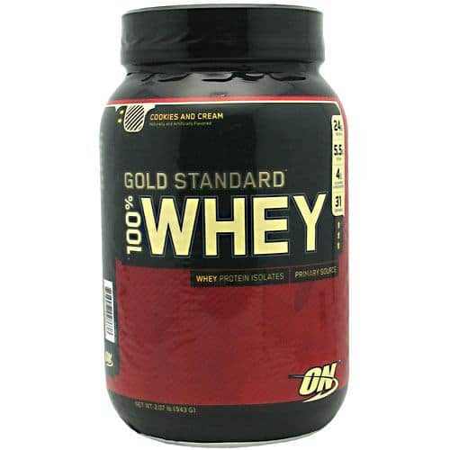 2lbs Optimum Nutrition Gold 100% Whey Protein $15.99 + Shipping