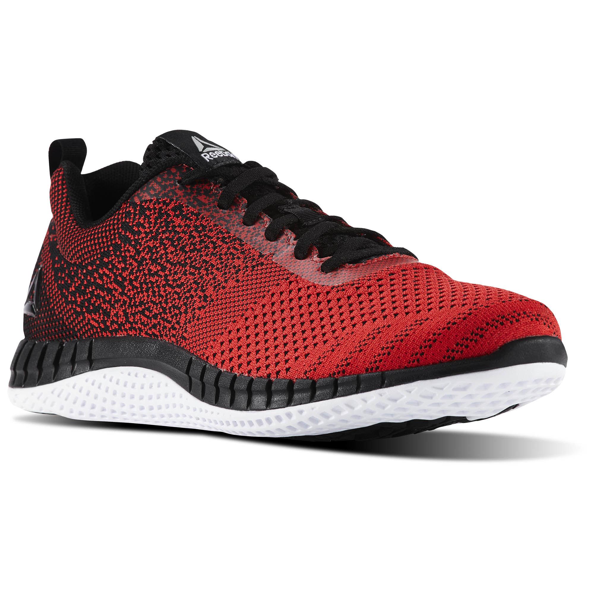 Reebok Men's Print Run Prime Ultraknit Shoes Red $34.98 + Free Shipping