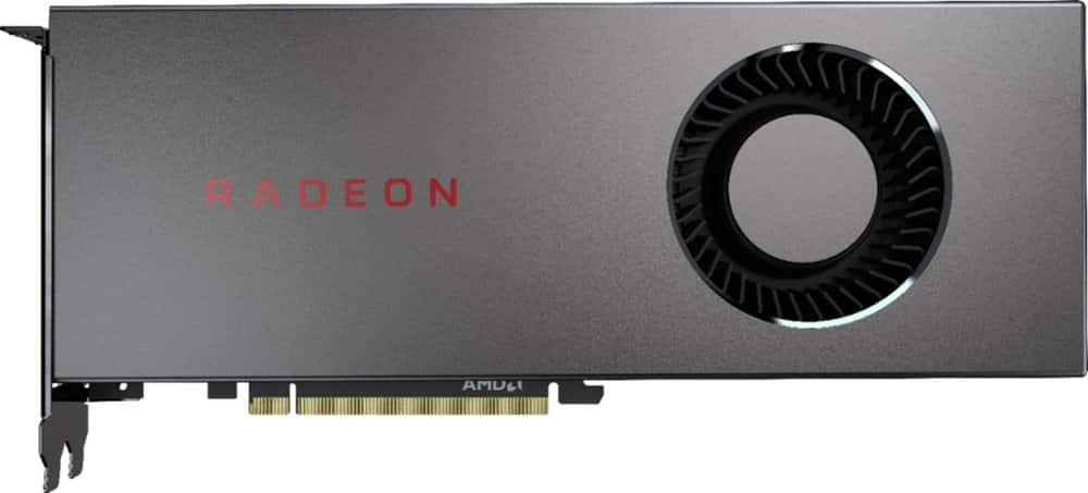 Goolge Express *New Customer* AMD Radeon RX 5700 8GB GDDR6 PCI Express 4.0 Graphics Card - Black $269.99