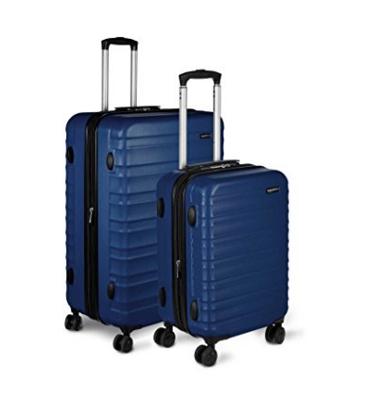 Save 32% on 2 piece AmazonBasics Hardside Spinner Luggage Set (Now: $94.99)