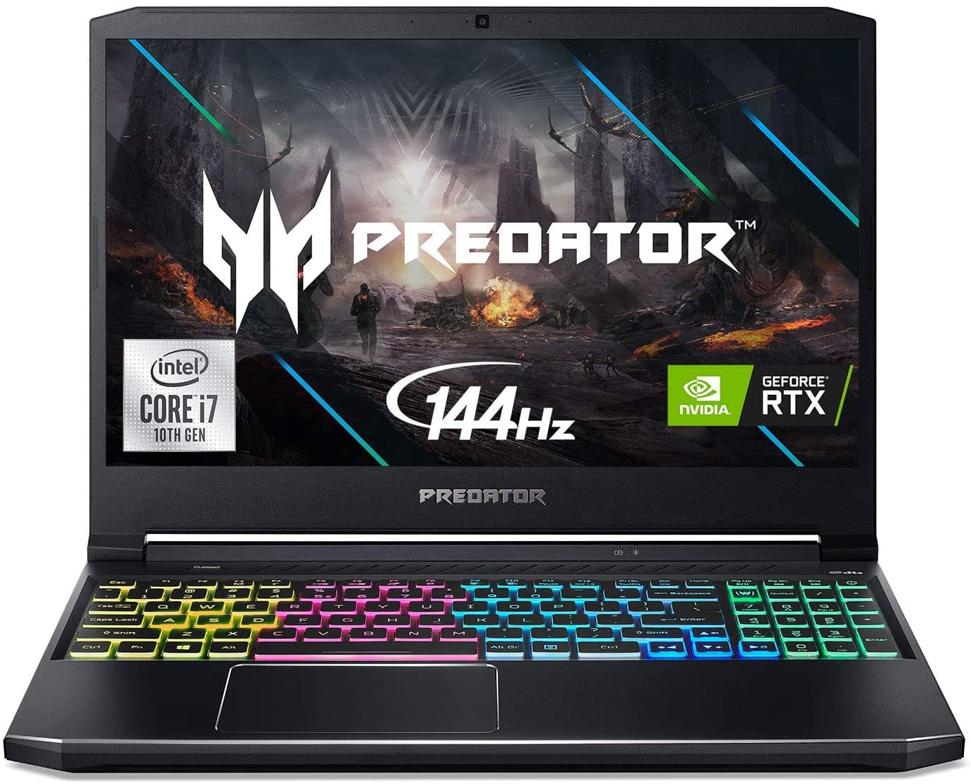 "Acer Predator Helios 300 Gaming Laptop, Intel i7-10750H, NVIDIA GeForce RTX 2060 6GB, 15.6"" Full HD 144Hz 3ms IPS Display, 16GB Dual-Channel DDR4, 512GB NVMe SSD $1199"