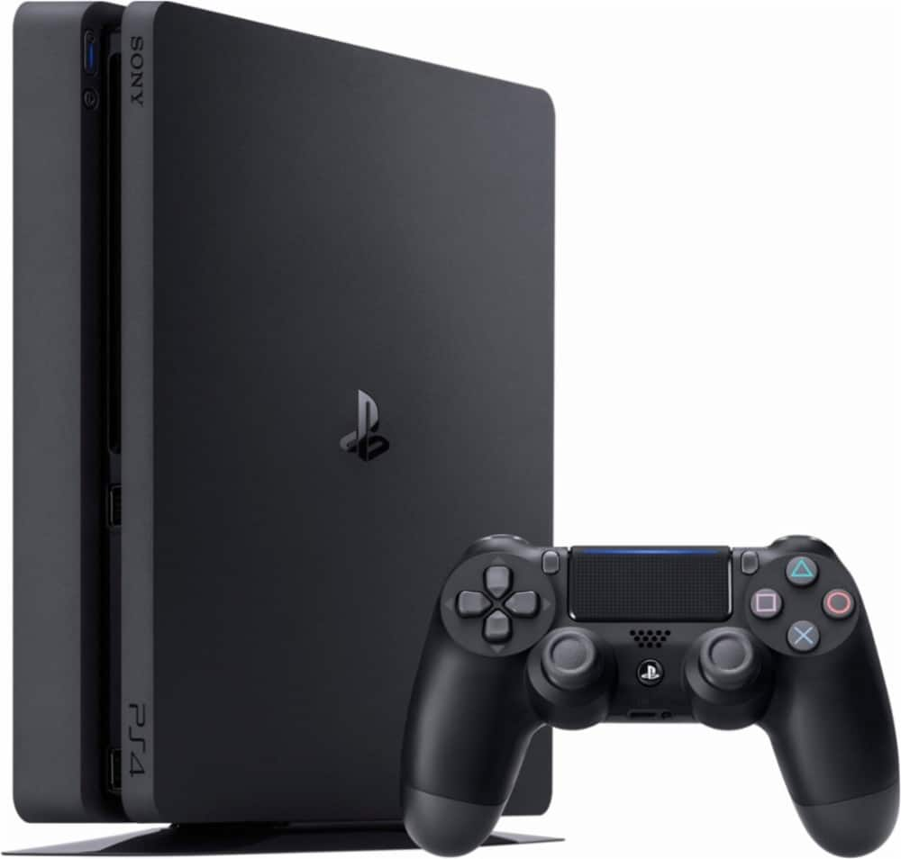 Best Buy + Other Stores: Slim PlayStation®4 1TB Console - Black $199.99