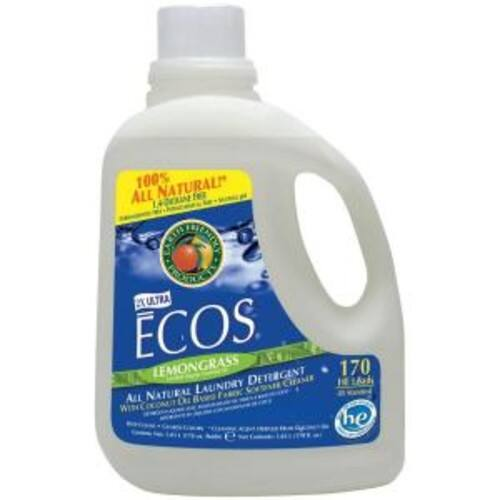 Earth Friendly Products ECOS Lemongrass HE Laundry Detergent 170oz  /170 loads free store pickup $14.79