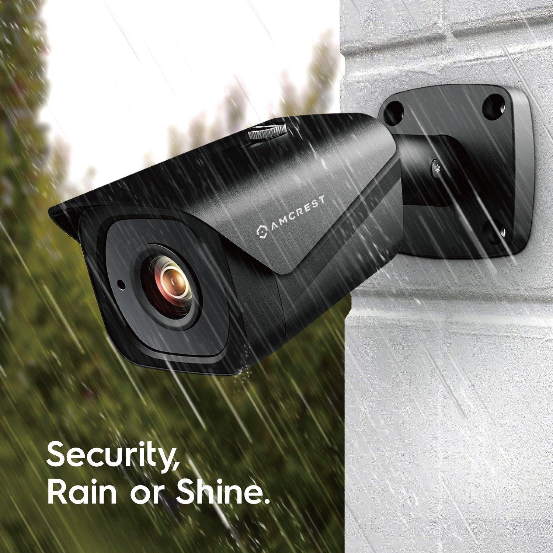 Amcrest UltraHD 4K (8MP) Outdoor Bullet POE IP Camera, $81.58@Amazon