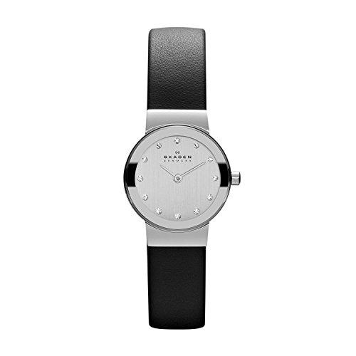 Skagen Women's Ancher Stainless Steel Mesh Dress Quartz Watch. $40@Amazon $39.9