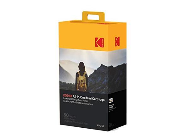 Kodak Mini 2 Photo Printer Cartridge MC All-in-One Paper and Color Ink Cartridge Refill, 50 Pack $24.49