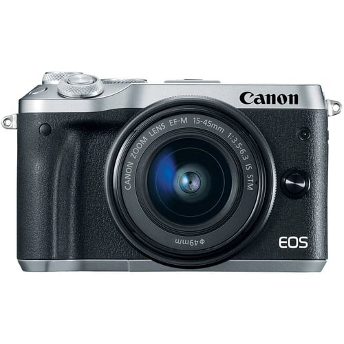 Canon EOS M6 Mirrorless Digital Camera with 18-150mm Lens (Holiday Savings) $449