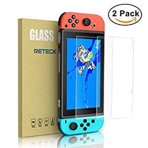 2-pack Nintendo Switch Tempered Glass Screen Protectors $4.99 FS w/Prime