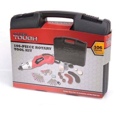 Hyper Tough 106-Piece Rotary Tool Kit for $11 @ Walmart