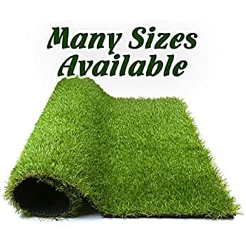 Forest Grass 5.5FT x 6.5FT Artificial Carpet Fake Grass Synthetic Thick Lawn Pet Turf $46.95