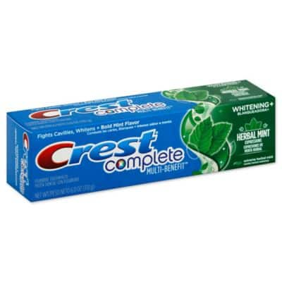 Walgreens: 2x Crest Toothpaste (assorted kinds) $3.98 + $4 Walgreen's coupon (Free with coupon + tax on $3.98)