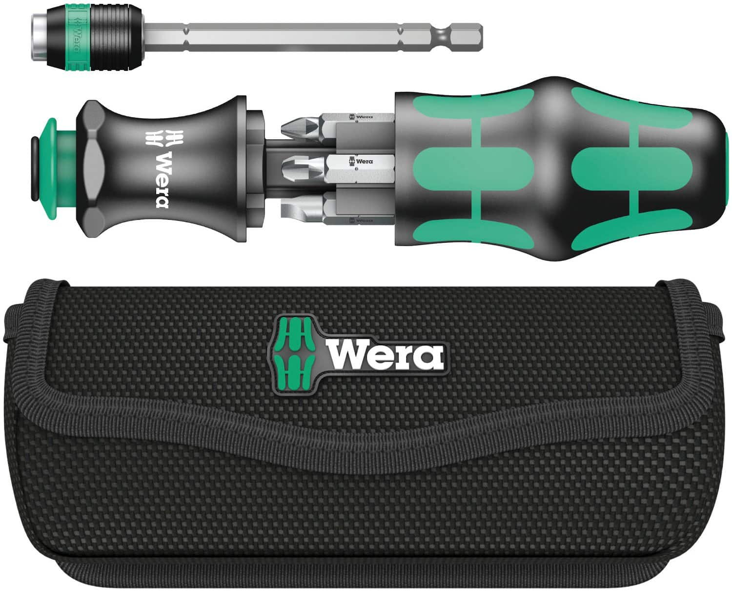 Wera Kraftform Kompakt 25 Slotted and Phillips Bitholding Screwdriver with Bayonet Blade and Pouch $25.98+Tax