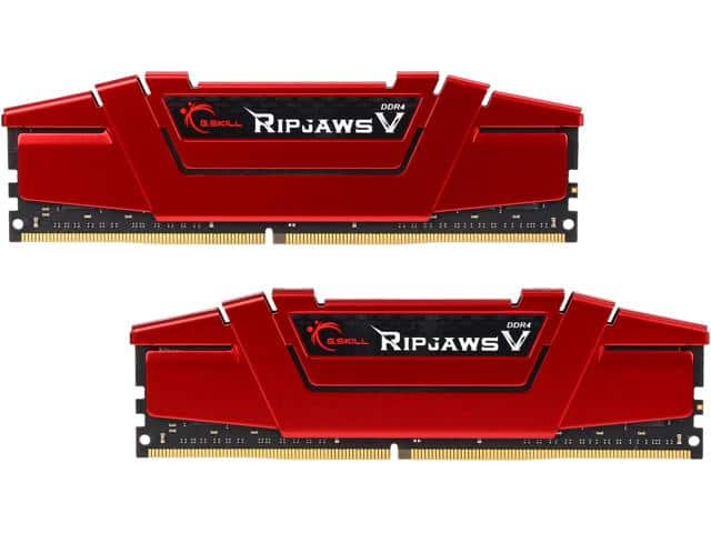 16GB DDR4 3000Mhz G.Skill Ripjaws V $149.99