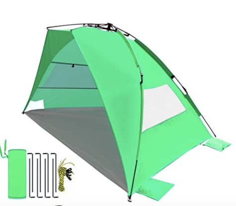 Leader Accessories EasyUp Beach Tent Cabana $19.99 + Free Shipping