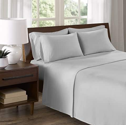 Comfort Spaces Cotton Jersey Sheet Sets & Micro Twill Sheet Sets (Various Colors & Sizes) $9.99 + Free Shipping w/Prime