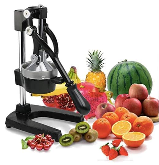 Manual Commercial Grade Juicer $24.63 + Free Shipping