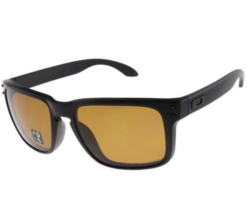 d0bd11e91a Oakley Holbrook Polarized Sunglasses (Matte Black) - Slickdeals.net