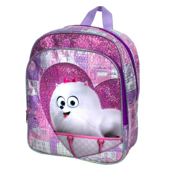 "12"" Secret Life of Pets Kids Backpack or 10"" Teenage Mutant Ninja Turtles Kids Backpack $5.99 Each and More + Free Shipping"