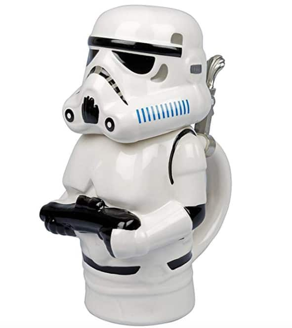 22-Oz Star Wars Beer Stein with Metal Hinge (Stormtrooper) $9.99 + Free Shipping w/Prime