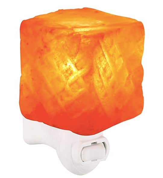 Himalayan Salt Night Light $4.20 + Free Shipping w/Prime