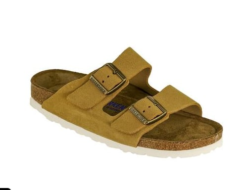 2633b12929 BIRKENSTOCK Arizona Soft Footbed Suede Leather Sandals $56 + Free ...